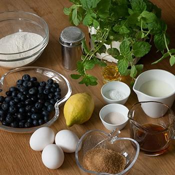 Blaubeerpfannkuchen Zutaten