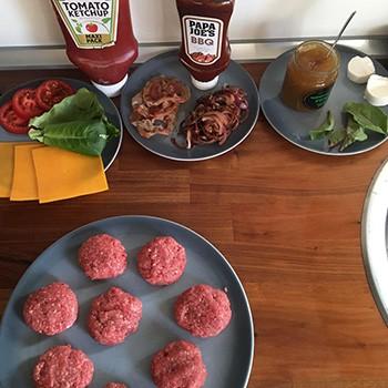 Mini Burger Zutaten