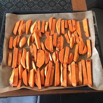 Suesskartoffelpommes