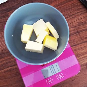Backen Zutaten Butter